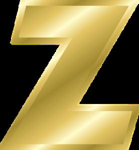 「Z」の文字